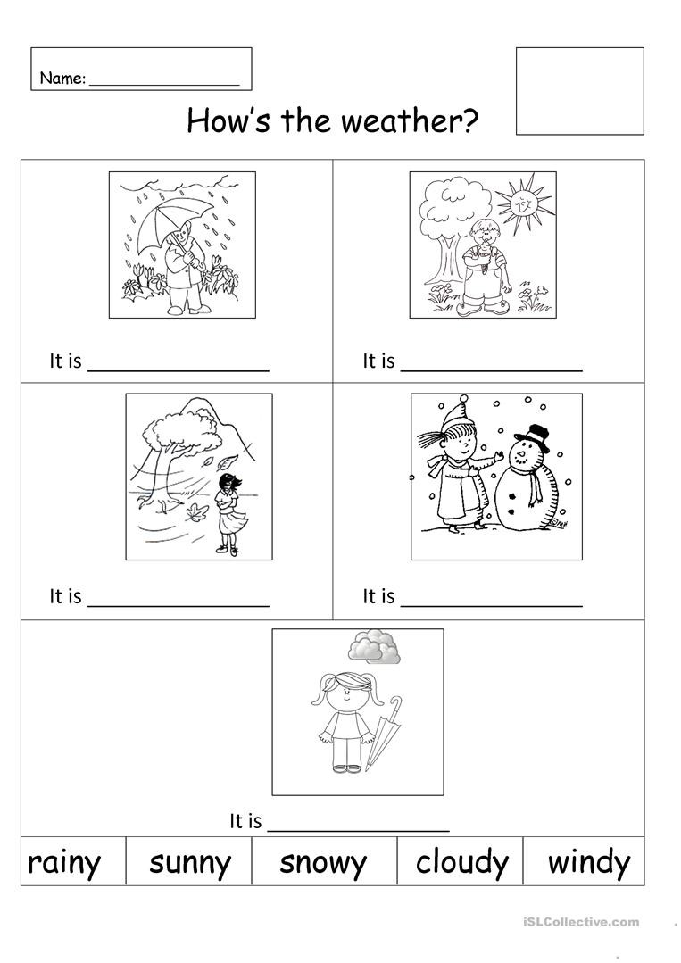 Weather Worksheets for Middle School Weather English Esl Worksheets for Distance Learning and